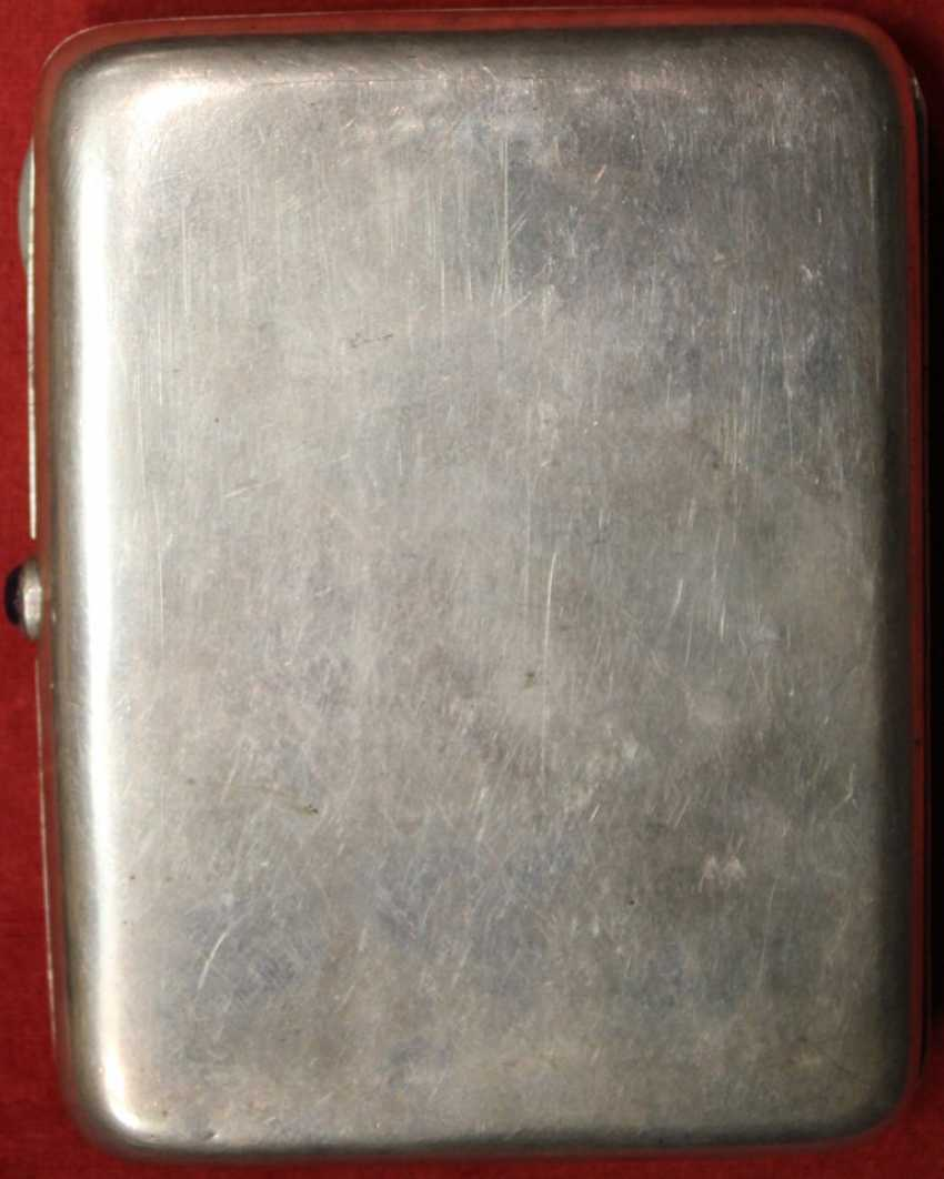 """Cigarette case with embossed image of """"GEOLOGISTS - photo 2"""