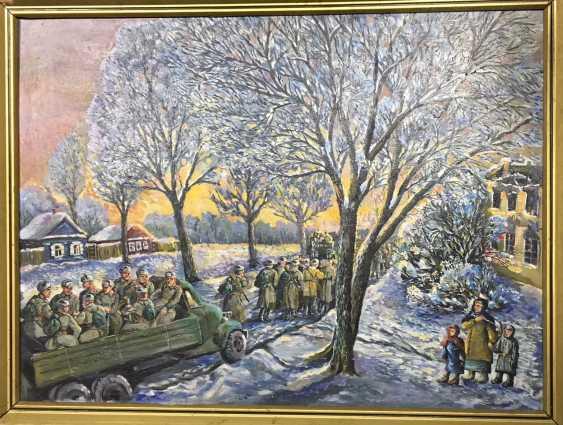 Багрянцев E. N. Gemälde, XX v. - Foto 1
