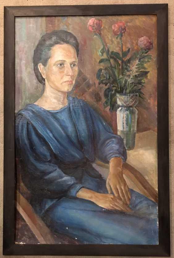 """Okhrimuk, I. M. """"Portrait Adwg Hops"""", 1990 - photo 1"""