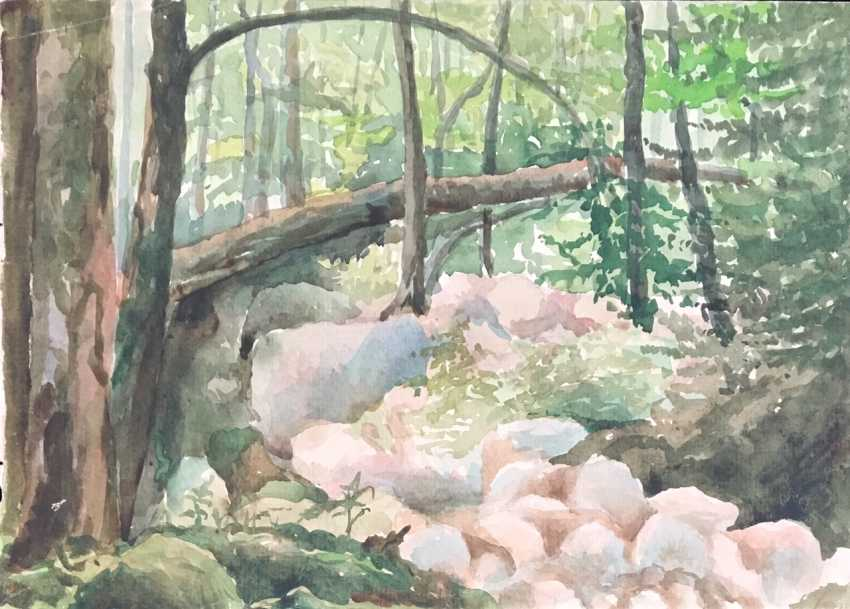 Zaitsev E. A. Painting, 1950-70-ies. - photo 1