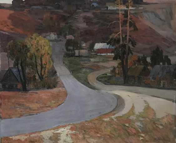 "Pluzhnik M. A. ""Autumn in Lososno"", 1971 - photo 1"
