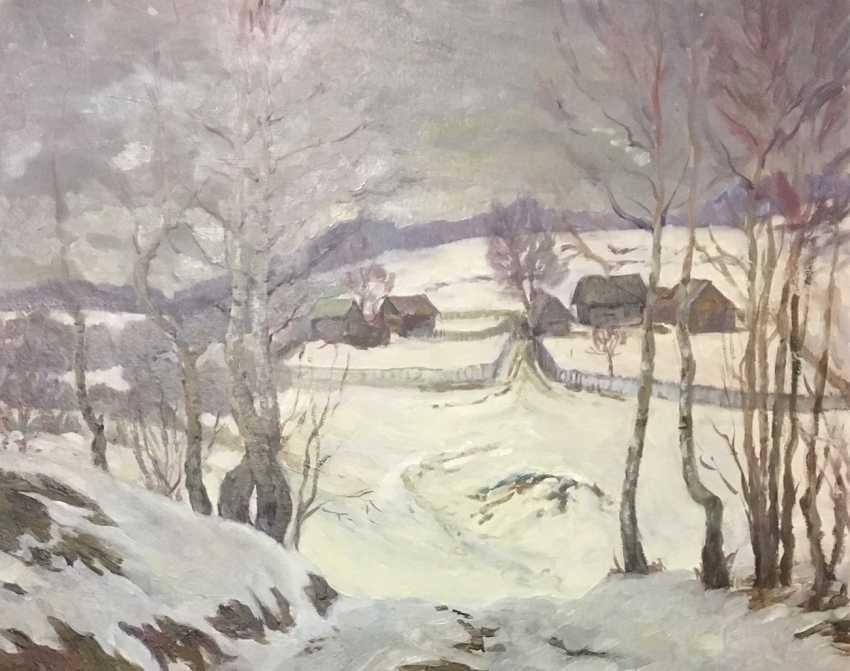 Uswak V. S. Painting, XX century. - photo 1