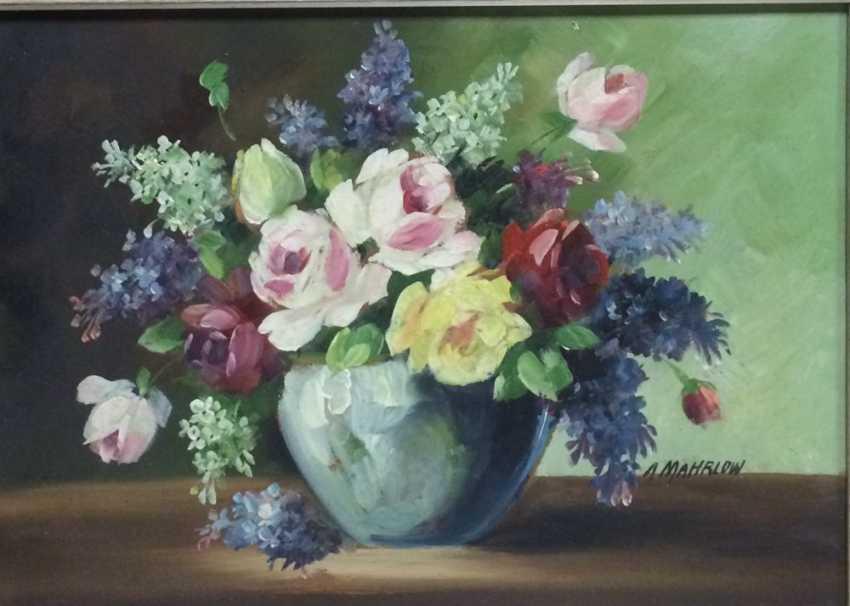 "Mahrlow ""Flowers"", XX century. - photo 2"