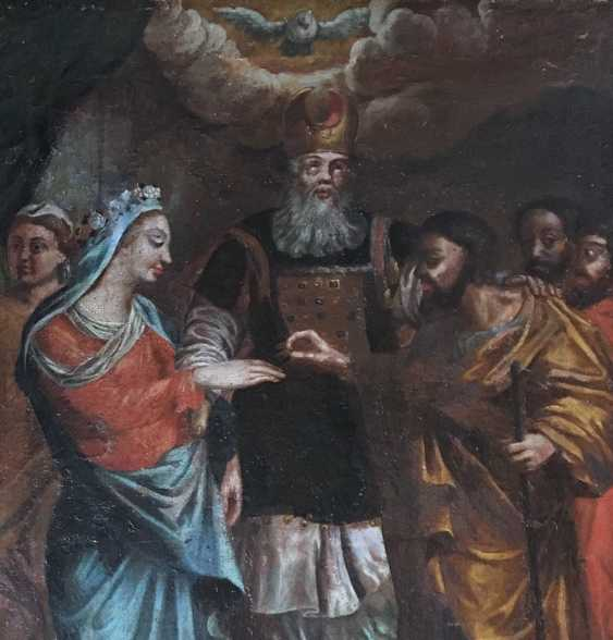 """""""The Betrothal Of The Virgin Mary"""". Moscow, XVIII century - photo 2"""