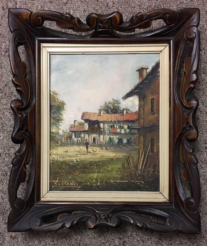 Lorenzi. Painting, 1940 - photo 1