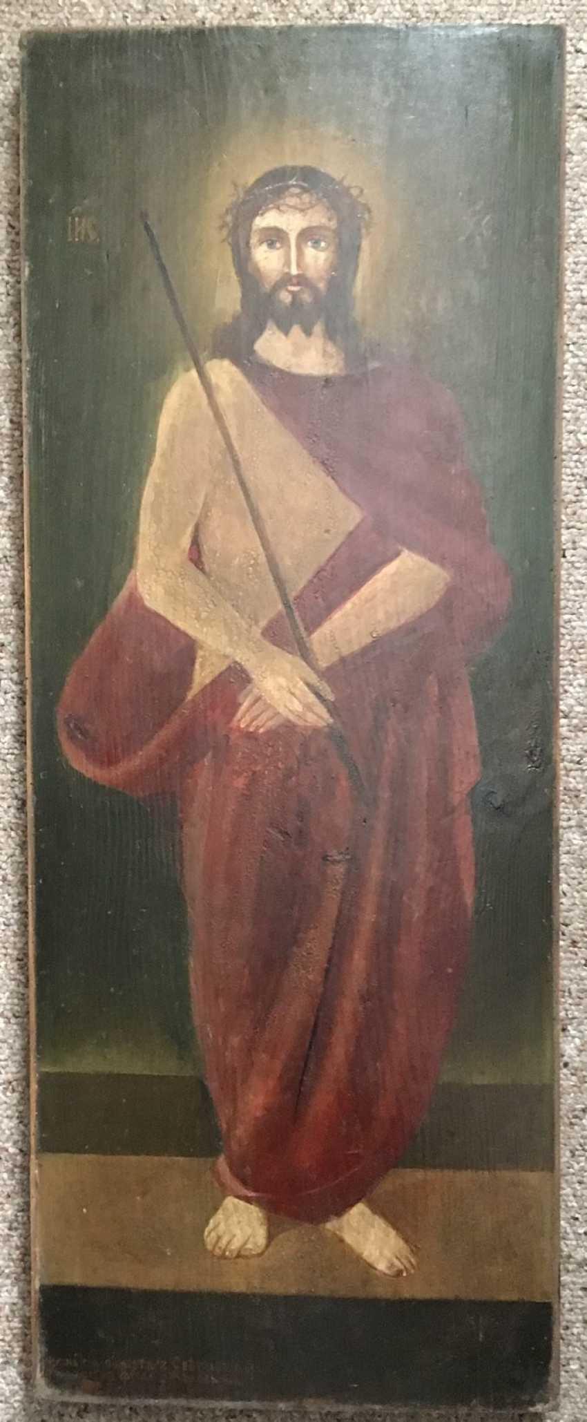 Belarusian subscription icon of the twentieth century. - photo 1