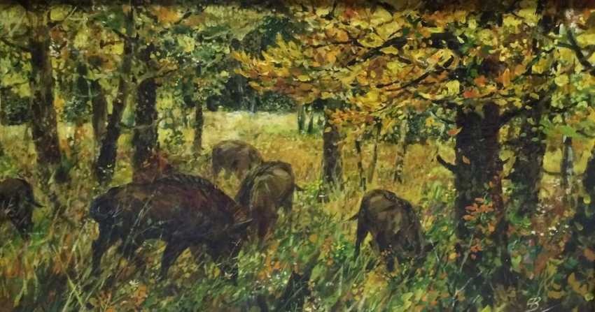 "Abakumov, V. V. ""Wild boar"", the twentieth century. - photo 1"