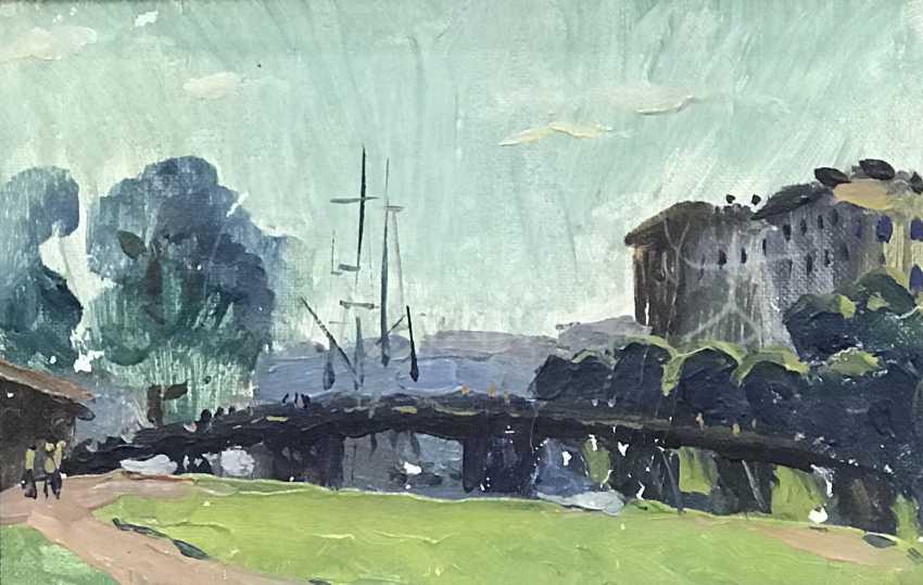 """Buschik N. In. """"Rabbit island"""", 1976 - photo 1"""