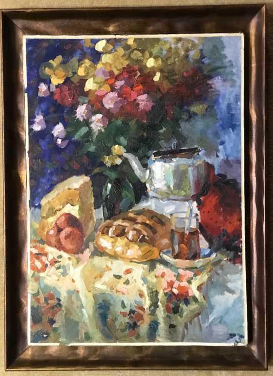E. E. krasovskii Lotterie-Gemälde, XX v. - Foto 1