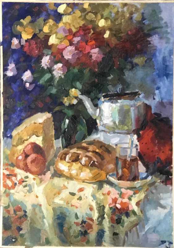 E. E. krasovskii Lotterie-Gemälde, XX v. - Foto 2