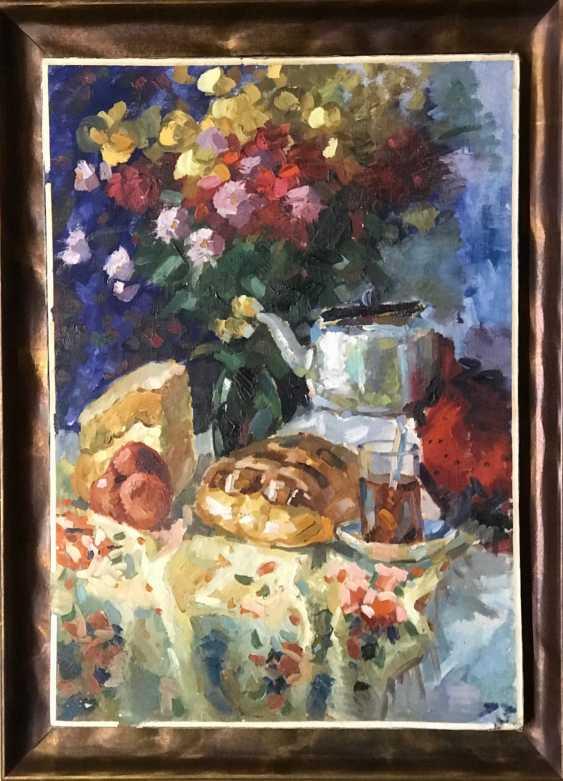 E. E. krasovskii Lotterie-Gemälde, XX v. - Foto 4