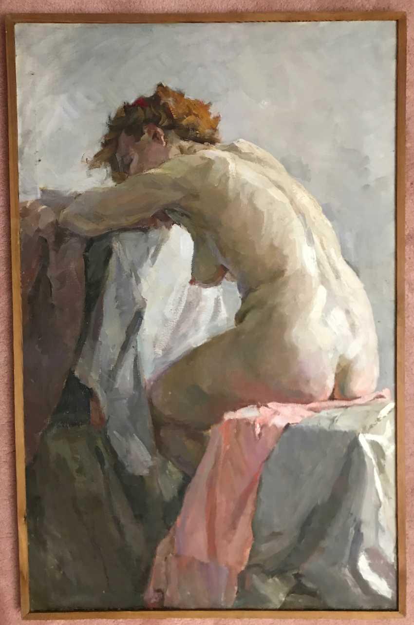 """Baranowski F. M. """"Nude"""", XX century. - photo 1"""
