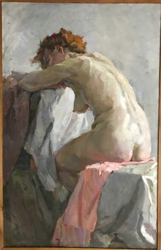 """Baranowski F. M. """"Nude"""", XX century. - photo 2"""