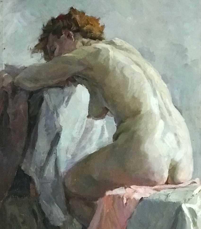 """Baranowski F. M. """"Nude"""", XX century. - photo 3"""