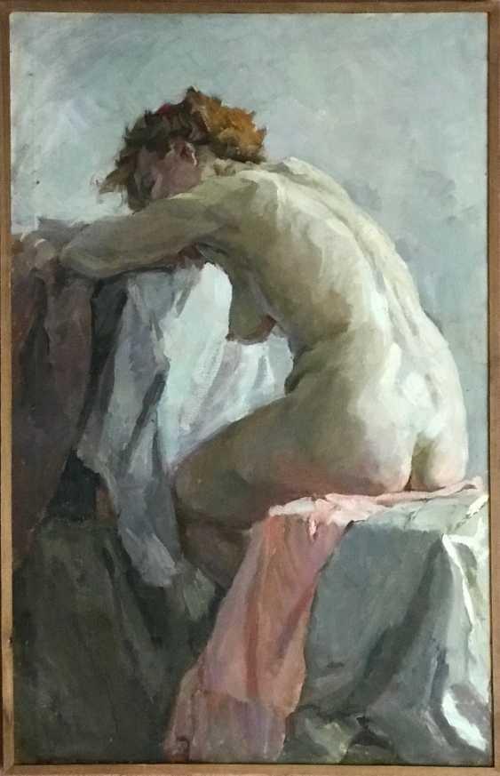"""Baranowski F. M. """"Nude"""", XX century. - photo 4"""