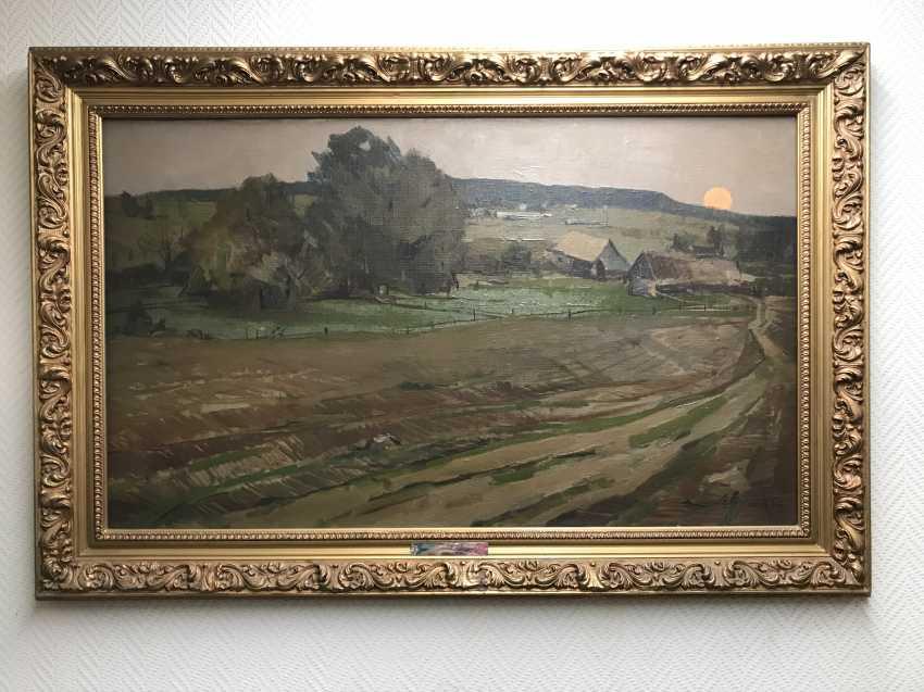 V. K. Tsvirko Painting, 1964 - photo 2