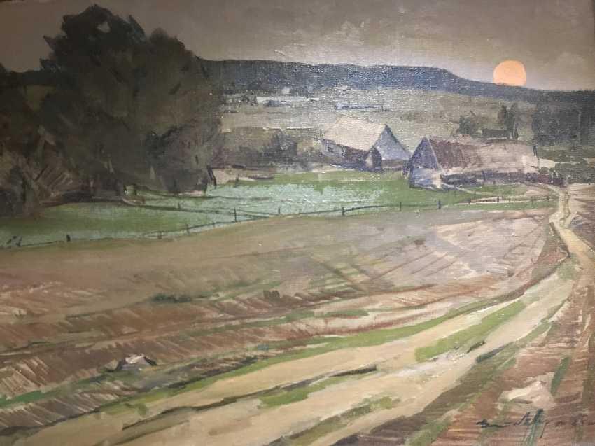 V. K. Tsvirko Painting, 1964 - photo 3