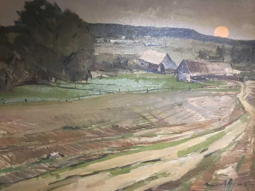 V. K. Tsvirko Painting, 1964 - photo 4