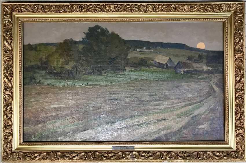 V. K. Tsvirko Painting, 1964 - photo 5