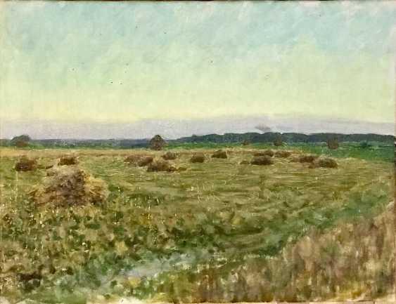 """Azgur (Gorelova) G. G. """"Time of harvest"""", 1954 - photo 1"""