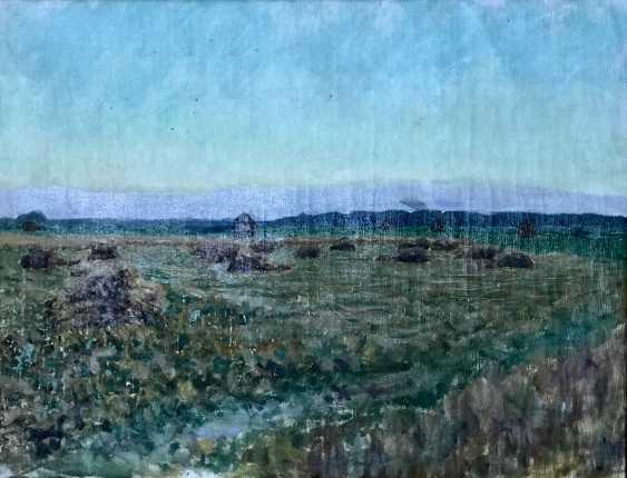 """Azgur (Gorelova) G. G. """"Time of harvest"""", 1954 - photo 4"""