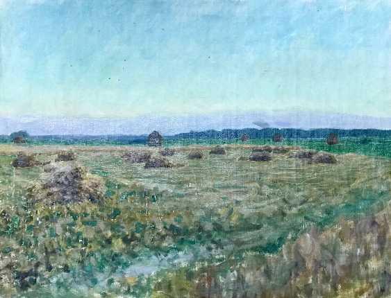 """Azgur (Gorelova) G. G. """"Time of harvest"""", 1954 - photo 5"""