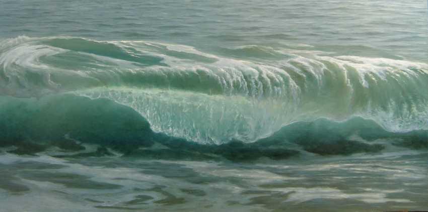 Viktoria Burtseva. Calm wave - photo 1
