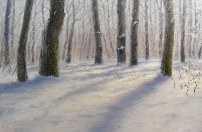 Viktoria Burtseva. Oaks winter morning - photo 1