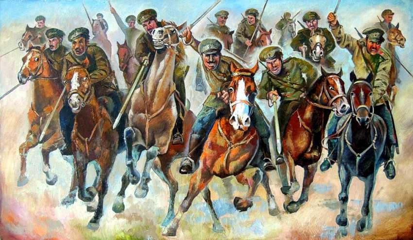 Alexander Shchebunyaev. Attack of the don Cossacks - photo 1