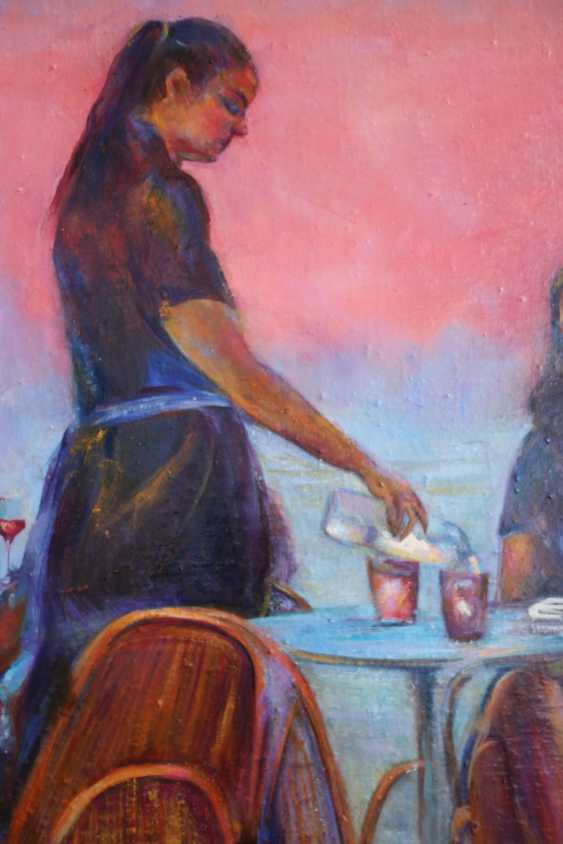 "Svetlana Malakhova. ""Red wine and the sunset.Crete."" - photo 3"