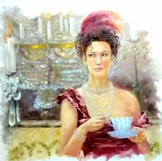 Elena Zorina. Kaffeepause - Foto 1