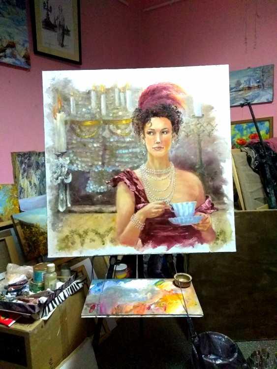 Elena Zorina. Kaffeepause - Foto 2