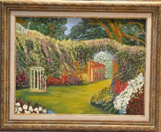 """Olga Gorshkova. Olga Gorshkova """"Flower garden"""". - photo 1"""