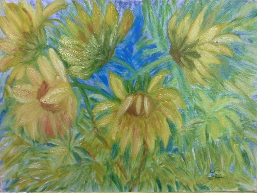 """Olga Gorshkova. Olga Gorshkova """"Sunflowers"""" - photo 1"""