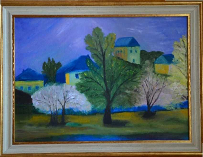 """Olga Gorshkova. Olga Gorshkova """"City at night"""" - photo 1"""