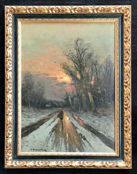 Kleiner Oskar von. La peinture, la ruelle sol. XXE siècle - photo 1