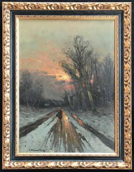 Kleiner Oskar von. La peinture, la ruelle sol. XXE siècle - photo 5