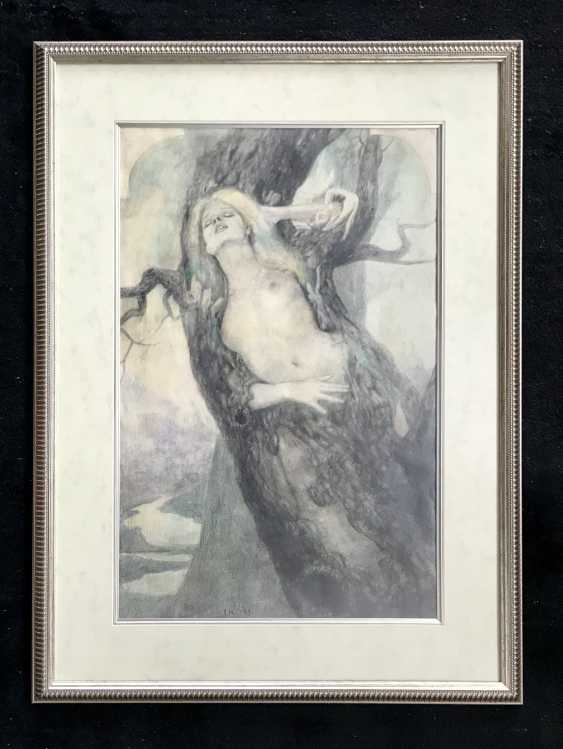 """The A. A. Isachev, """"Dryad"""", 1983 - photo 1"""