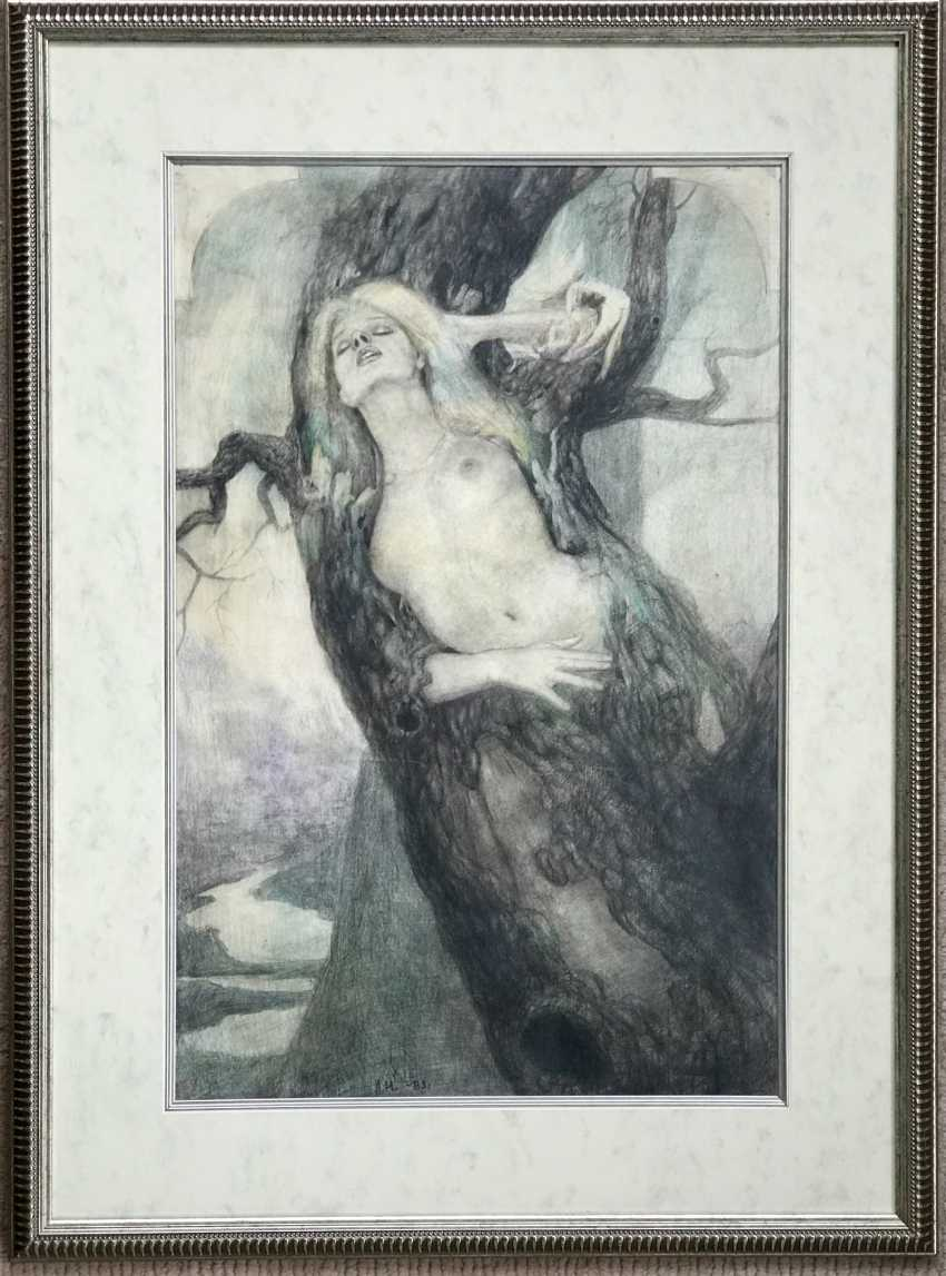 """The A. A. Isachev, """"Dryad"""", 1983 - photo 2"""