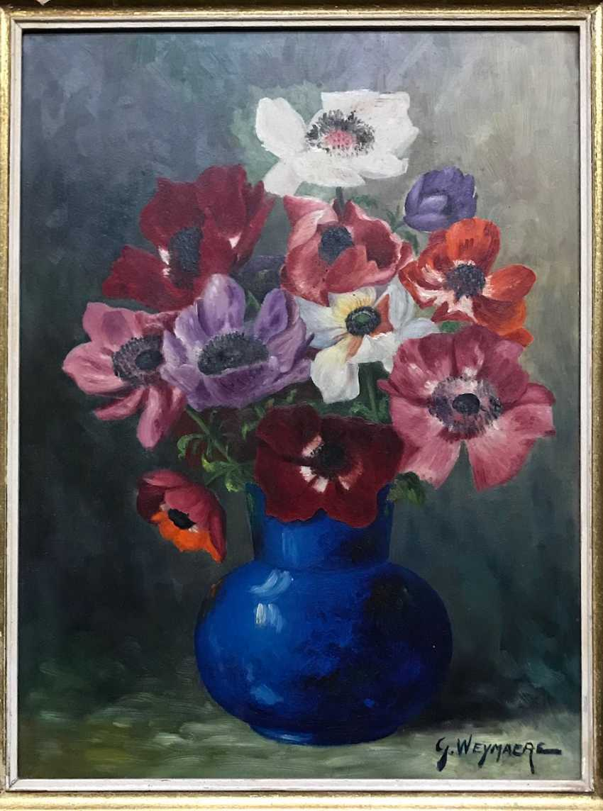 "Still life ""Flowers"", the twentieth century - photo 5"