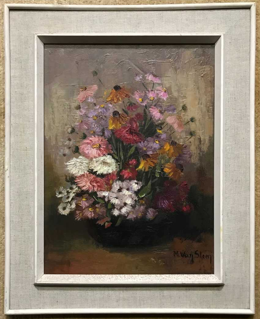"Still life ""Flowers"", the twentieth century - photo 1"