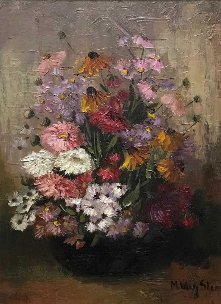 "Still life ""Flowers"", the twentieth century - photo 5"