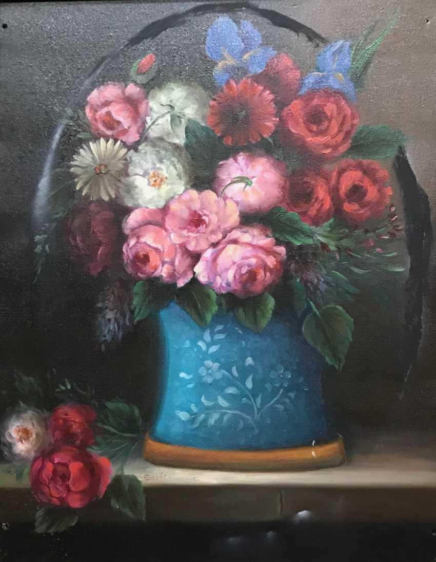 "Still life ""Flowers"", the twentieth century - photo 4"