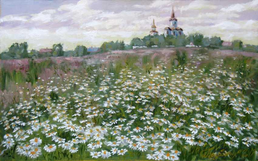 Alexander Bezrodnykh. Chamomile.Field - photo 1