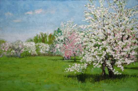 Alexander Bezrodnykh. Spring.Apple orchard - photo 1