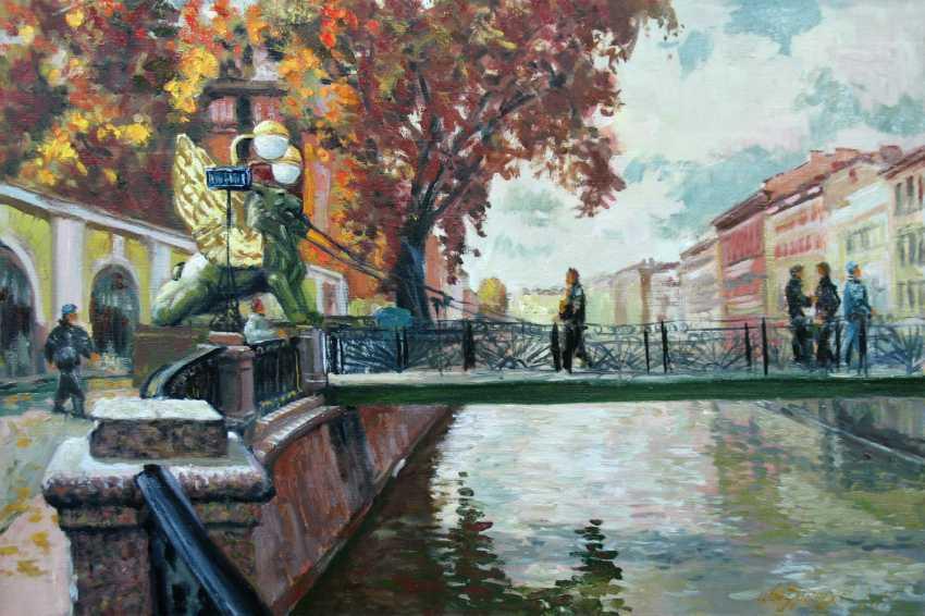 Alexander Bezrodnykh. Autumn.Bridge - photo 1