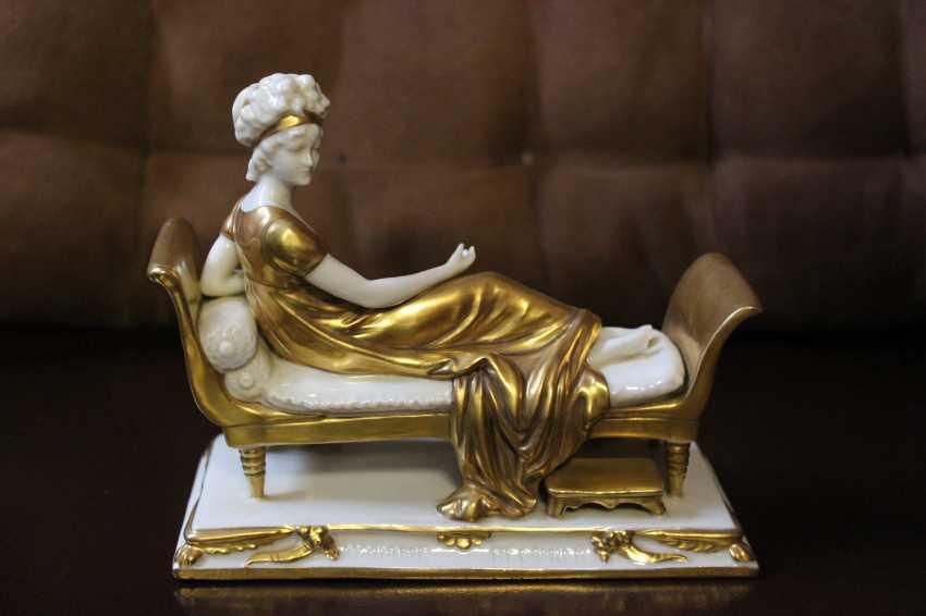 "Figurine ""Madame Récamier"", XX century. - photo 1"
