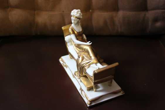 "Figurine ""Madame Récamier"", XX century. - photo 2"