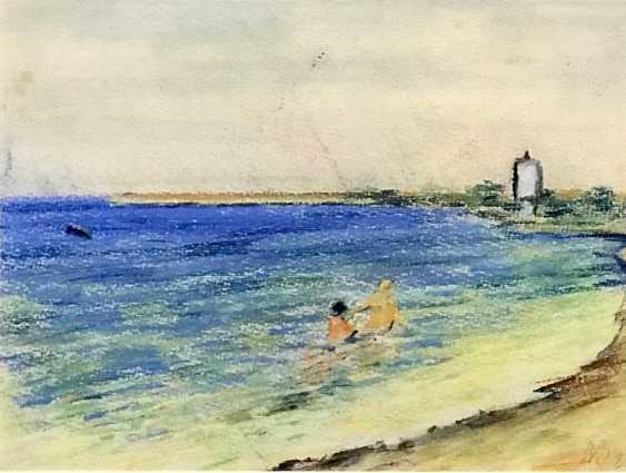 """Litvinova Z. V. """"Minsk sea"""", 1980 - photo 2"""