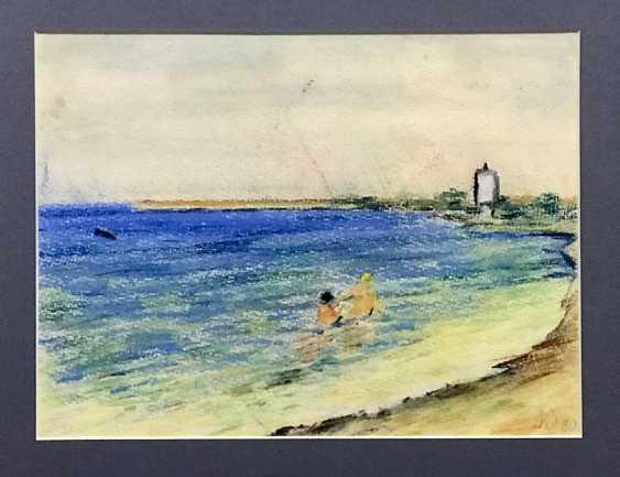 """Litvinova Z. V. """"Minsk sea"""", 1980 - photo 3"""